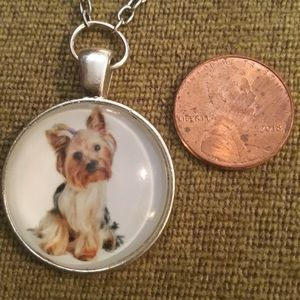 """Too Cute Dog Necklace 19.5"""""""